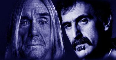 Zappa + Iggy: Arte, Cine & Rock&Roll!